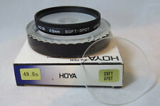HOYA 49mm SOFT SPOT FILTER - 2 Filters In One (A)