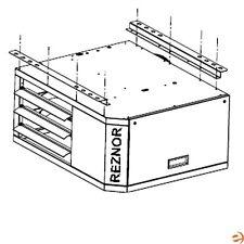 Reznor Ceiling Suspension Kit Option CK22 Set of (2) Hanging Brackets