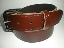 BROWN LEATHER JEAN BELTS SUITABLE FOR MEN AND WOMEN SMALL TO XXL SIZES