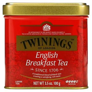 Twinings, English Breakfast Loose Tea, 3.5 oz (100 g)