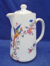 "Hot Water Jug Lid Mini Coffee Hammersley 6259 Bird of Paradise Goode London 4.5"""
