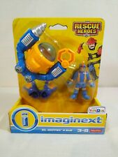 Rescue Heroes Gil Gripper & Sub flipper Fisher Price Imaginext Brand New