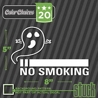"No Smoking Set of 10 Decals Stickers 2/"" x 2/"" Clean Air Free Oxygen p148"