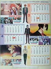 Uta no Prince-sama mini desktop calendar 2012 promo