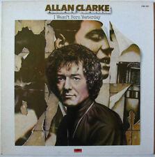 Allan CLARKE  (LP 33 Tours)   I wasn't born yesterday