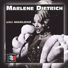MARLENE DIETRICH LILI MARLENE LA CHANSON FRANCAISE CD NEW SEALED 777966391625