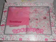 RocaWear Infant Girls Denim Jeans + Vest + Bodysuit Gift Set 18M NWT