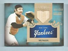 THURMAN MUNSON 2011 TOPPS TIER ONE GAME USED BAT /399 YANKEES