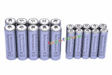 10 AA 3000mAh + 10 AAA 1800mAh 1.2V NI-MH Rechargeable Battery 2A 3A Grey Cell