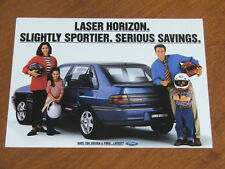 1993 Ford Laser Horizon original double sided single page brochure
