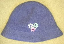 Gymboree Sweet Chic Blue Wool Hat Large/Xx-Large 5 6 7 Nwt