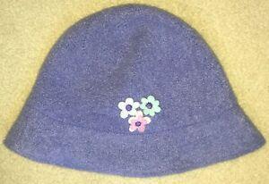 Gymboree Sweet ChicBlue Wool Hat Large/XX-Large 5 6 7 NWT