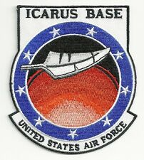 Stargate Universe TV Series ICARUS Base Logo Embroidered Shoulder Patch 4.25""