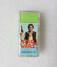 More details for rare vintage 1982 star wars han solo cased eraser rubber