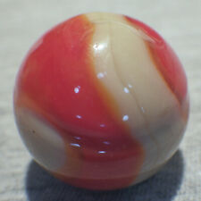 "BB Marbles: Akro Agate Co. Corkscrew. 31/32"". Mint.  (J2)"