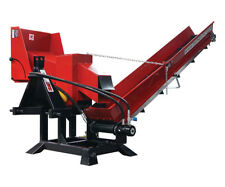 PTO WOOD PROCESSOR WITH CONVEYOR - TRACTOR  wood chipper - branch logger chipper