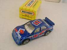 1995 MATCHBOX SUPERFAST MB 35 BLUE MERCEDES-BENZ GTC RALLY CAR NEW IN BOX