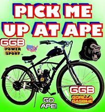 66cc/80cc 2-Stroke Motorized Bike Kit And 26� Cruiser Bike Powerful Diy Bicycle