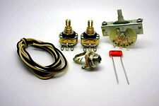 FENDER TELECASTER STANDARD WIRING KIT WITH 0.022uf SPRAGUE ORANGE DROP