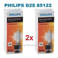 2x Philips D2S Xenon Brenner 85122 Für OPEL AUDI VW MERCEDES PORSCHE NEU