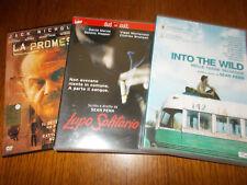 LOTTO 3 DVD SEAN PENN - LA PROMESSA LUPO SOLITARIO INTO THE WILD