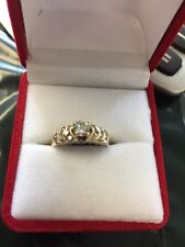 14 Kt LadiesYellow Gold Diamond Ring