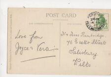 Mr & Miss Rambridge Exeter Street Salisbury 1929 321b