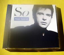 """CD """" PETER GABRIEL - SO """" 9 SONGS (SLEDGEHAMMER)"""