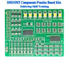 SMD/SMT Components Practice Board Kit Soldering Skill Training Beginner DIY Kits