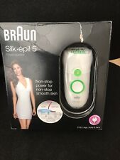 BNIB BRAUN SILK EPIL 5 POWER EPILATOR WITH 7 EXTRAS