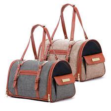 More details for chameleon pet travel carrier carry bag -  dog,cat  shoulder portable crate