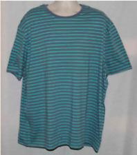 NEW: Massimo Men's T-Shirt - Verona Blue Stripe - Size: XLT
