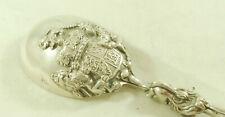 Antique Dutch Silver Spoon Pseudo Marks 140g 22cm EZX