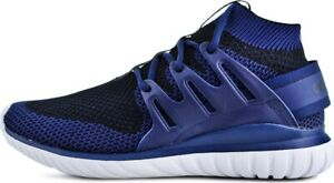 adidas Originals Tubular Nova Primeknit Mens Trainers Blue Sports Fashion Shoes