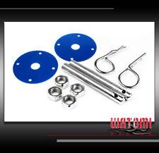 RACING HOOD PINS LOCK KIT BLUE CAMARO S10 SILVERADO SUBURBAN 300 CARAVAN DAKOTA