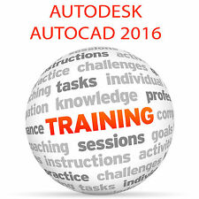 Autodesk Autocad 2016-Video Tutorial DVD de entrenamiento