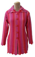Winter Knitted Designer Cardigan Jumper Size 10 12 14 S67