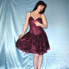 Reißverschluss am Lurex PARTYKLEID* S 38  pink Glitzer Cocktailkleid* Abendkleid