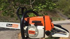 "Stihl 026  Chainsaw with a new 16"" bar and new chain"