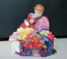 "Royal Doulton Collectible Figurine ""Flower Seller's Children"", Hn1342"