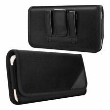 """MoKo Phone Belt Pouch Case Horizontal Holster Clip Flip Holder for Up 6.5"""" Phone"""