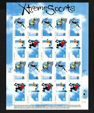 Extreme Sports (Xtreme Sports) Scott Number 3321-3324 Sheet of 20