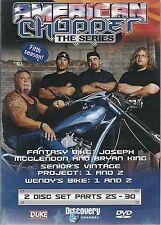 AMERICAN CHOPPER THE SERIES FIFTH SEASON - 2 DVD SET PARTS 25 - 30