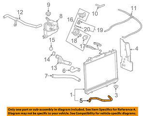 Cadillac GM OEM 04-07 CTS 3.6L-V6 Radiator-Cooler Pipe 89022531