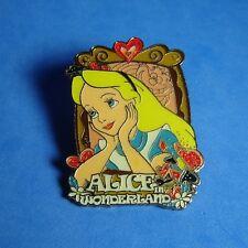 Alice in Wonderland Framed Portrait Disney Fantasy? Pin LE