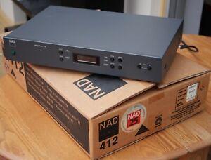 NAD 412 TUNER  FM/AM,  HiFi quality Radio Tuner