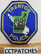 TRENTON, MICHIGAN POLICE SHOULDER PATCH MI