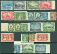 EDW1949SELL : CANADA Nice collection of all PO Fresh, MNH sgls & sets. Cat $411