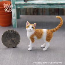 Dollhouse Miniature Cat by Paizley Pawz