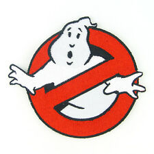 "4"" GHOSTBUSTERS NO GHOST Logo Embroidered Iron On Patch #PGH011"
